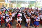 Deux millions de casques de moto pour des élèves pour l'année scolaire 2018-2019