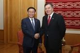 Le vice-Premier ministre Vuong Dinh Huê termine avec succès sa visite au Chili