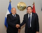 Une délégation du PCV en visite de travail à l'El Salvador