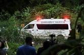 Thaïlande: six des treize jeunes de la grotte évacués, les autres lundi 9 juillet
