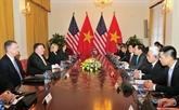 Entretien entre le vice-Premier ministre Pham Binh Minh et le secrétaire d'État américain Mike Pompeo