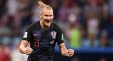 Mondial 2018: la Fifa avertit le Croate Vida après des célébrations pro-ukrainiennes
