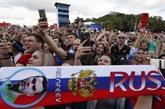 Mondial 2018: des milliers de supporters russes réconfortent les joueurs