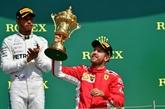 GP de Grande-Bretagne: les malheurs d'Hamilton font le bonheur de Vettel