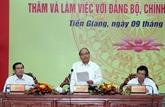 Le chef du gouvernement instaure cinq piliers pour l'économie de Tiên Giang