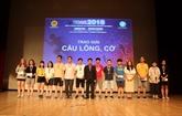 Le XIe Congrès sportif des étudiants vietnamiens en République de Corée