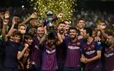 Espagne: Piqué et Dembélé donnent la Supercoupe au FC Barcelone