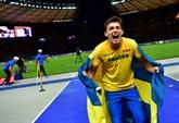 Euro d'athlétisme: le Suédois Duplantis, en or à la perche en passant 6,05 m