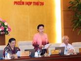 Clôture de la 26e session du Comité permanent de l'AN