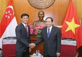 Promotion des relations Vietnam - Singapour