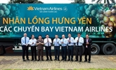 Les longanes de Hung Yên servis sur des vols de Vietnam Airlines