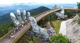 Le spectaculaire pont dOr des Bà Nà Hills à Dà Nang