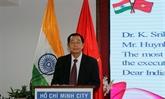 Le 72e anniversaire de la fête de l'indépendance de l'Inde célébré à Hô Chi Minh-Ville