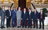 Le Premier ministre reçoit des entreprises étrangères