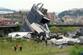 Italie: au moins 20 mort dans l'effondrement d'un viaduc