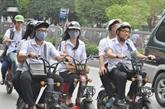Honda soutient le Vietnam dans la sensibilisation des élèves à la sécurité routière