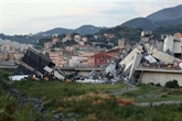 Italie: le pont s'est écroulé et la vie s'est arrêtée