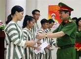Trente-quatre prisonniers sortent en liberté conditionnelle à Hanoï