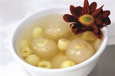 Litchis aux grains de lotus