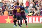 Amical: Messi et Malcom buteurs contre Boca Juniors