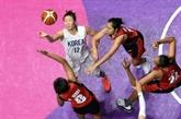 Basket: la Corée réunifiée débute par une démonstration aux Jeux asiatiques
