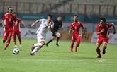 Football: le Vietnam bat le Népal 2-0 aux ASIAD 18
