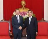L'américain Warburg Pincus veut chercher des opportunités d'investissement au Vietnam