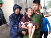 Typhon Bebinca: 6 morts et disparus à Nghê An et Son La