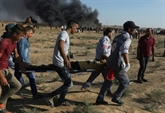 Gaza: deux Palestiniens tués par des tirs israéliens, efforts pour une trêve durable