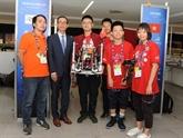 Tournoi de robotique au Mexique: l'équipe vietnamienne se classe 12e