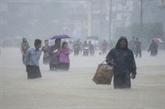 Inondations en Birmanie: plus de 130.000 personnes déplacées