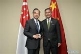 Chine et Singapour conviennent de soutenir le multilatéralisme et le libre-échange