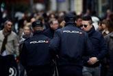 Espagne: un homme armé d'un couteau tué en attaquant un commissariat