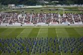 Japon: le Mondial de rugby 2019 redonne vie à une ville dévastée par le tsunami