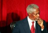 Discussion de l'organisation des funérailles de Kofi Annan