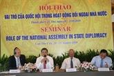 Rôle de lAssemblée nationale dans les activités extérieures de lÉtat
