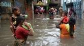 Inondations en Inde: un million de déplacés dans les centres au Kerala