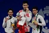 ASIAD 2018: le Chinois Sun Yang réussit le triplé 200-400-800 m