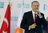 Crise financière: les États-Unis, la tête de Turc d'Erdogan