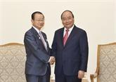 Nguyên Xuân Phuc reçoit une délégation de la Chambre des représentants du Japon