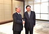 Une délégation du PCV en visite à Shaanxi