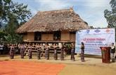 Thua Thiên-Huê fait revivre l'architecture traditionnelle de l'ethnie Cô Tu