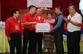 Hanoï et Vientiane renforcent leur coopération dans l'humanitaire