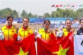 Les rameurs remportent la première médaille d'or pour le Vietnam