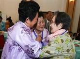 Des familles séparées des deux Corées se rencontrent