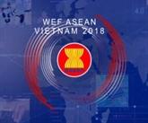 Contrôle des infrastructures pour l'organisation du Forum économique mondial sur l'ASEAN
