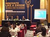 """Lancement du 2e concours """"Innover comme un Suédois"""" à Hanoï"""