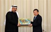 Une délégation d'entreprises étrangères en visite à Hô Chi Minh-Ville