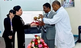 Visite: diverses activités du chef de l'État vietnamien en Éthiopie