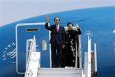 Le président Trân Dai Quang quitte l'Éthiopie pour l'Égypte